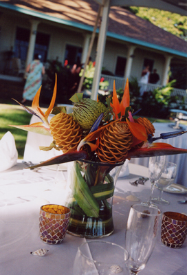 Maui florist: Blue Sky Weddings
