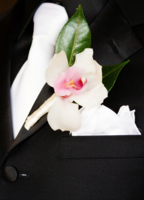 lapel flower for groom