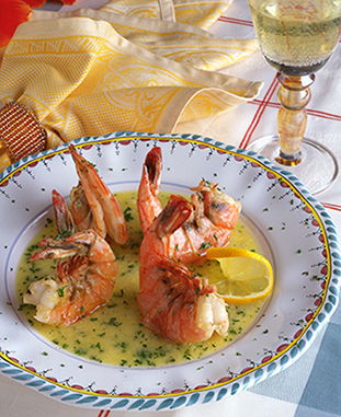 Prawns Venice on Maui