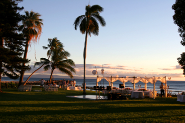 Sunset at Olowalu: Blue Sky Weddings