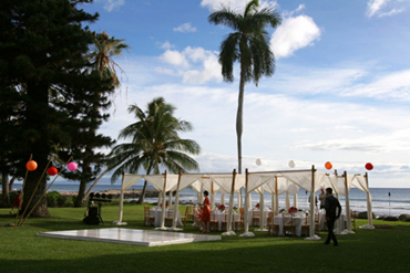Olowalu Plantation House canopies
