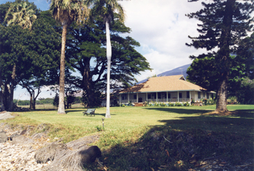 OLowalu Plantation House Lawn