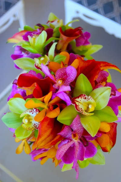 Bridal Bouquet Tropical Flowers : Bright tropical wedding flowers maui